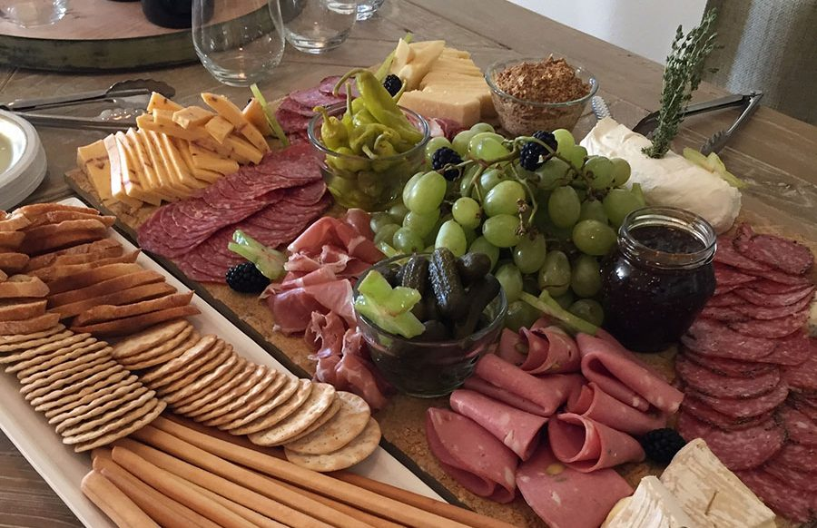 Cheese and Charcuterie Display