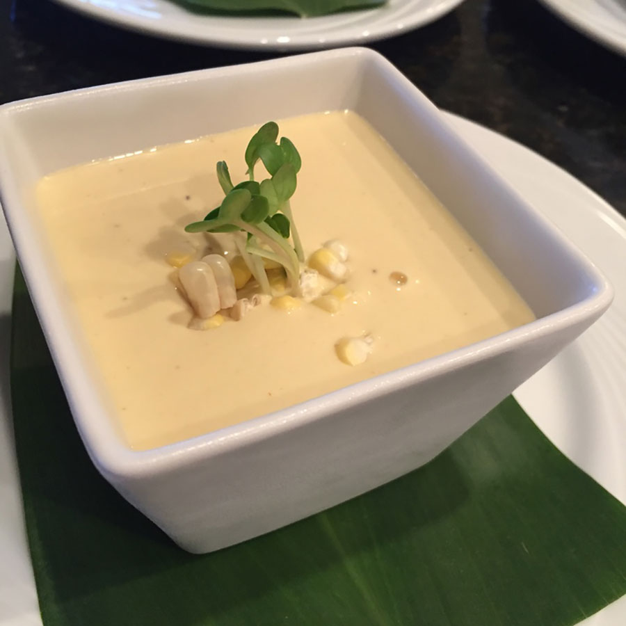Chilled Kula Corn Purée