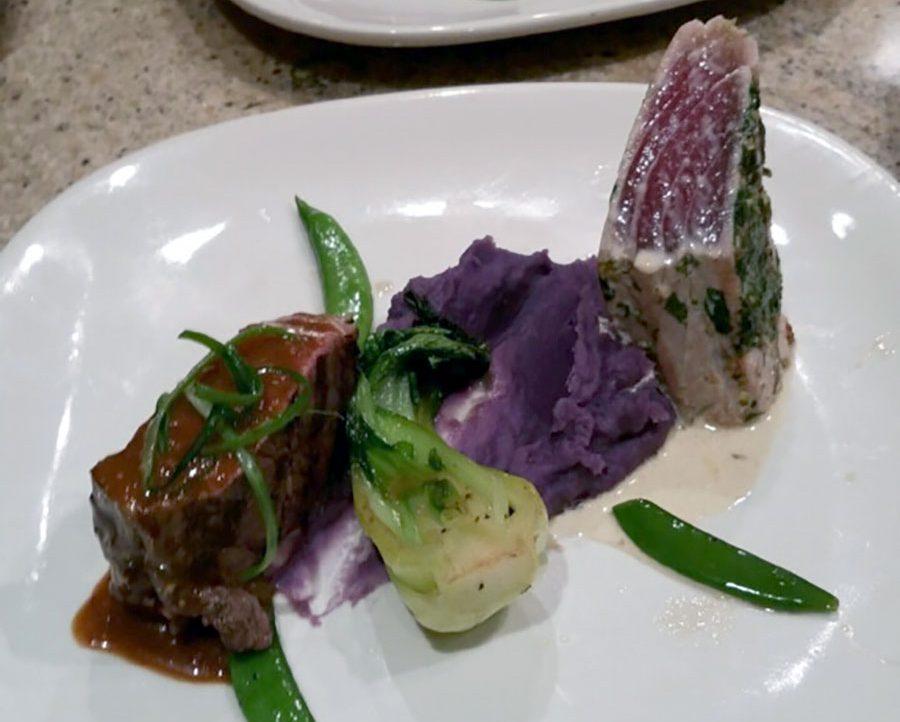 Cilantro Furikake Crusted Ahi
