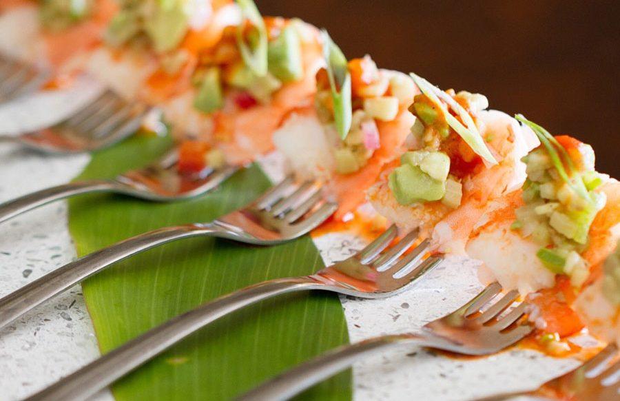 Saffron Poached Shrimp