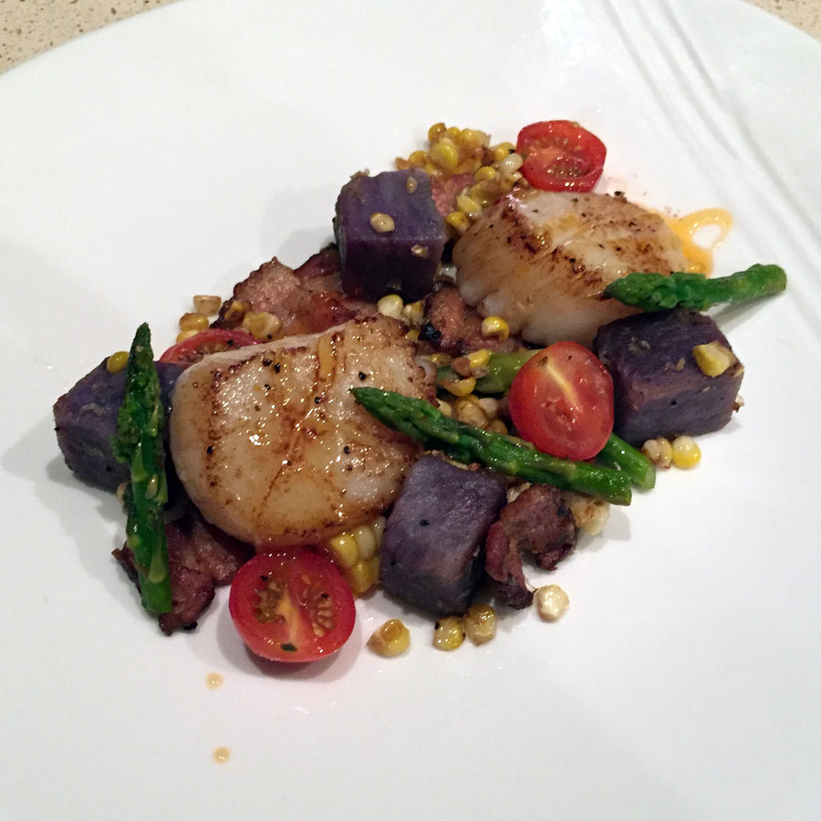 Seared Day Boat Scallop